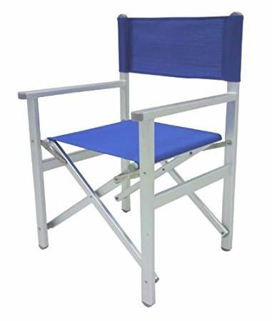 Sedia regista alluminio e noleggio sedie cinefacility for Sedie in alluminio