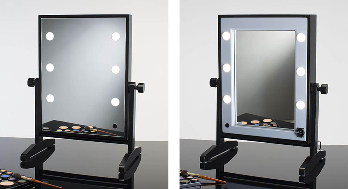 Specchio trucco illuminato e noleggio specchi cinefacility - Specchio trucco illuminato ...